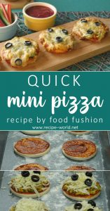 Quick Mini Pizza Recipe