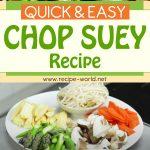 Quick and Easy Chop Suey Recipe! | Wok Wednesdays