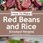 Red Beans and Rice Recipe | Crockpot Recipes