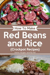 Red Beans and Rice Recipe - Crockpot Recipes