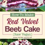 Red Velvet Beet Cake! (Raw Vegan)