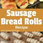 Sausage Bread Rolls Recipe