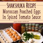 Shakshuka – Moroccan Poached Eggs In Spiced Tomato Sauce