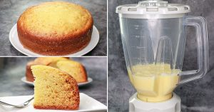 Sponge Cake In Blender - Vanilla Sponge Cake Recipe Without Oven