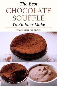 The Best Chocolate Soufflé You'll Ever Make