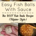 The Best FISH BALLS Recipe FILIPINO STYLE | Easy Fish balls With Sauce Recipe