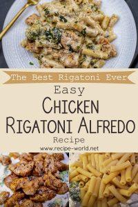 The Best Rigatoni Ever - Easy Chicken Rigatoni Alfredo Recipe