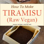 How To Make Tiramisu (Raw Vegan)