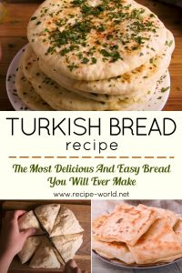 Turkish Bread- The Most Delicious And Easy Bread You Will Ever Make