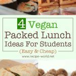 Vegan Packed Lunch Ideas For Students (Easy & Cheap)