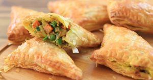Vegetable Curry Puffs Recipe - How to Make Curry Puffs
