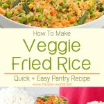 Veggie Fried Rice | Quick + Easy Pantry Recipe