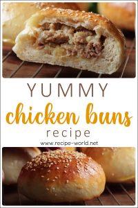 Yummy Chicken Buns Recipe
